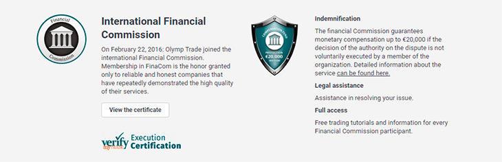Olymp Trade ragulation